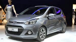 hyundai premieres new i10 city car