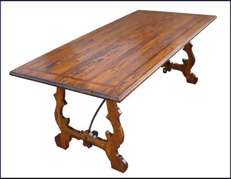 tavolo fratino con ferri in legno antico 600 la commode