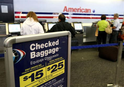 aa baggage fee intravelreport a new way to avoid baggage fees