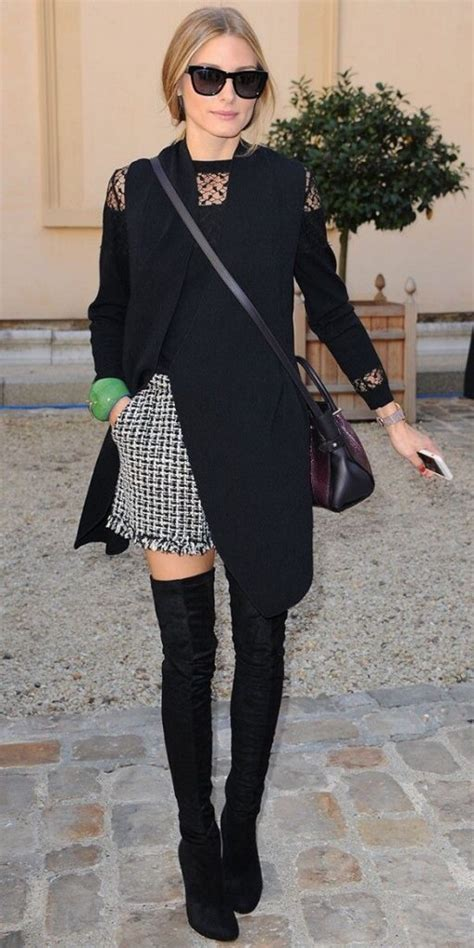 how to wear the knee boots fashion style