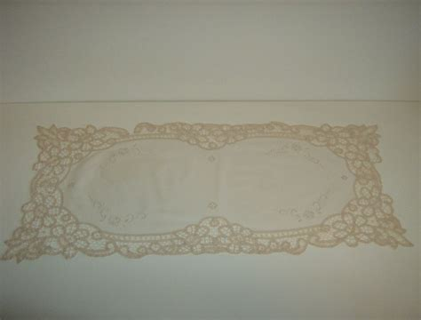 Lace Dresser Scarf by Battenburg Lace Dresser Scarf From Marysmenagerie On Ruby