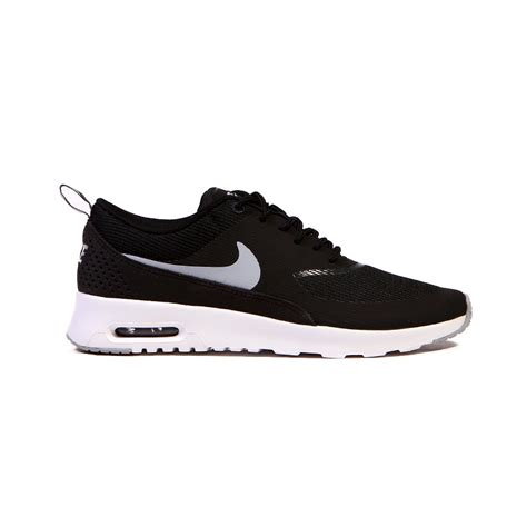nike air max shoes nike air max thea black white grey s shoes 599409
