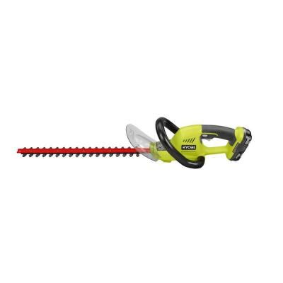 ryobi one 18 in 18 volt lithium ion cordless hedge