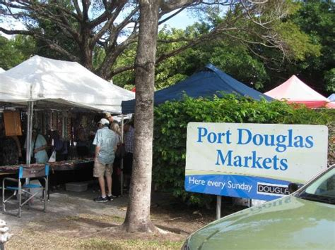 port douglas markets entrance to the markets picture of sunday market port