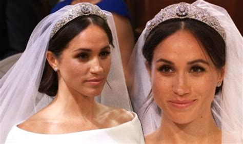 meghan markle what tiara did she wear meghan markle tiara she is wearing the queen mary s