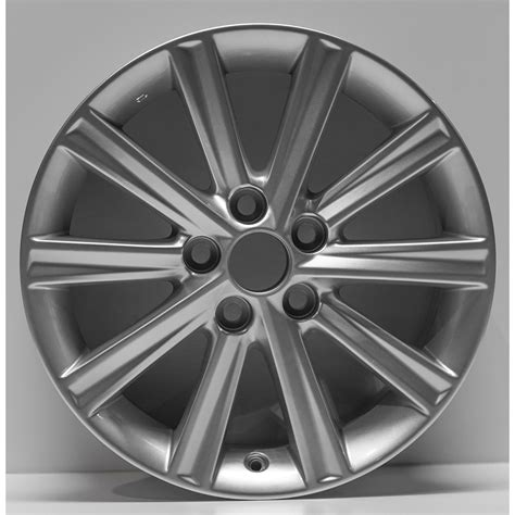 2012 Toyota Camry Wheel Bolt Pattern 17 Quot Silver 10 Spoke By Jte Wheels For 2012 2014 Toyota