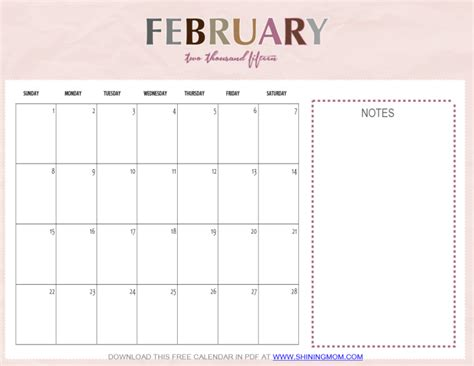 February 2015 Printable Calendar Just In February 2015 Calendars