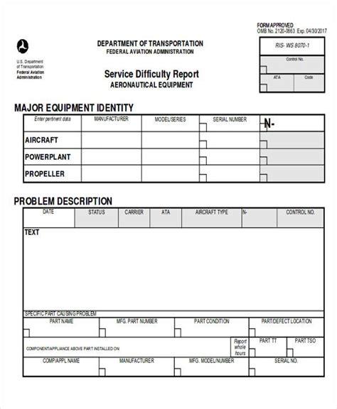 sample service reports   docs word apple