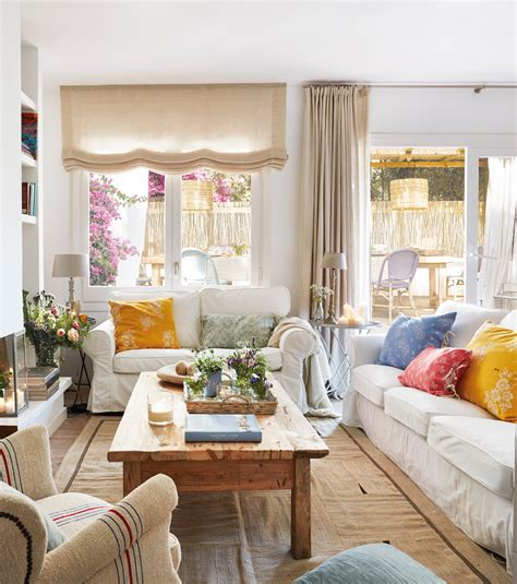 cortinas rusticas para salon 20 ideas para ganar calidez