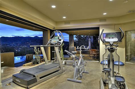 Small Pool House 27 Luxury Home Gym Design Ideas For Fitness Buffs
