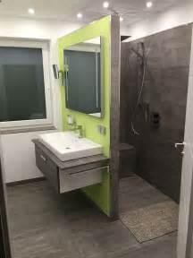 bad mit begehbarer dusche badezimmer mit begehbarer dusche fliesen in betonoptik