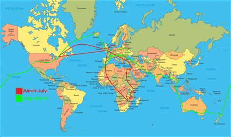 map your travels world map planning a world wide adventure around the world in 80