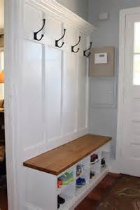 Entryway Bench With Baskets Best 25 Entryway Bench Coat Rack Ideas On Pinterest