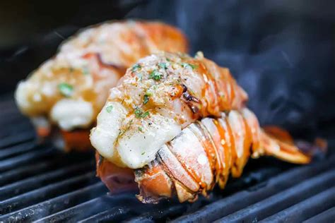 Fancy Drapes Grilled Lobster Tails With Smoked Paprika Butter