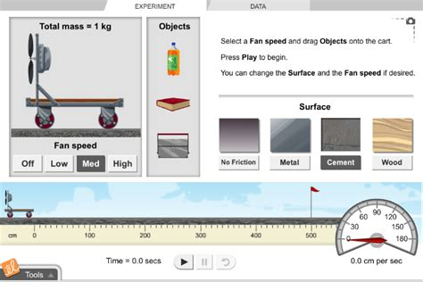 gizmo and fan carts gizmo of the week and fan carts explorelearning
