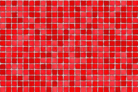 rote fliesen rote fliesen mosaik stockfoto bild reflexion