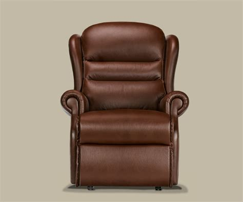 electric recliner chair manual sherborne ashford hide standard recliner chair manual or electric option manual reclining