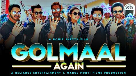 film 2017 golmaal again golmaal again third 3rd day box office collection 1st