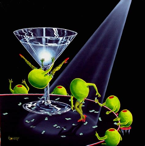martini olive art michael godard art gallery 2