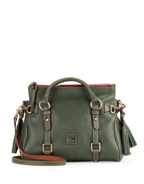 Dooney Bourke Ebelle5 Designer Dooney And Bourke Mini Handbag And Organizer Giveaway by Dooney Bourke Florentine Mini Leather Satchel In Green