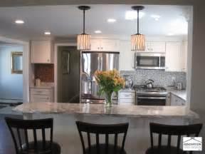 Split Level Homes Floor Plans transitional kitchen renovation and design