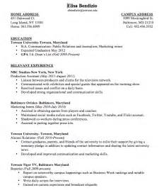 Resume Sample With Expected Graduation Date by Resume Sample Expected Graduation Date
