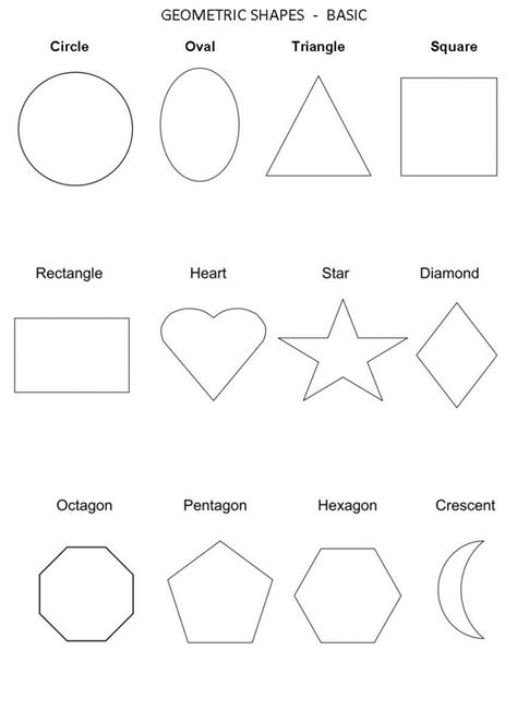 recognising shapes worksheet collection of shape recognition worksheets adriaticatoursrl