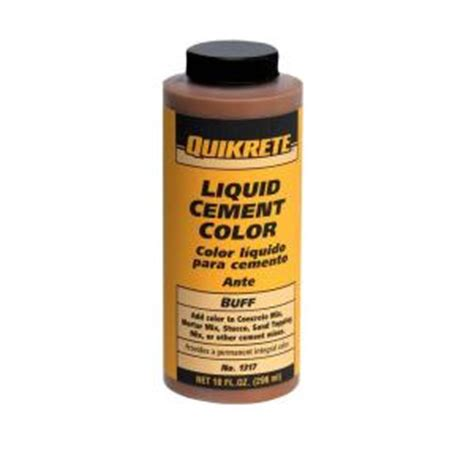 quikrete liquid cement color quikrete 10 oz liquid cement color buff