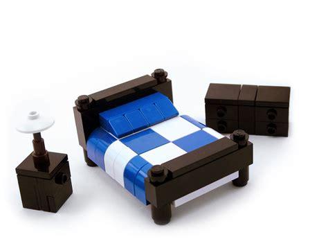 lego bed set lego furniture bedroom set w bed nightstand dresser