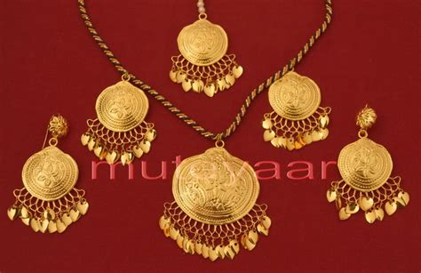 punjabi traditional jewellery muteyaar