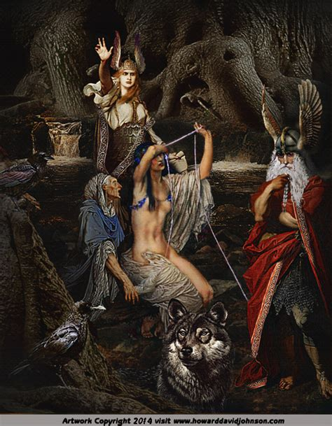norse myths amp legends paintings of nordic mythology amp a