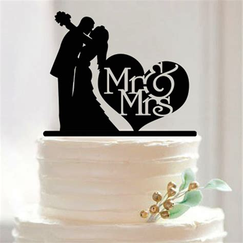 Wedding Cakes Toppers by Mr Mrs Acrylic Cake Topper Custom Wedding Cake Topper