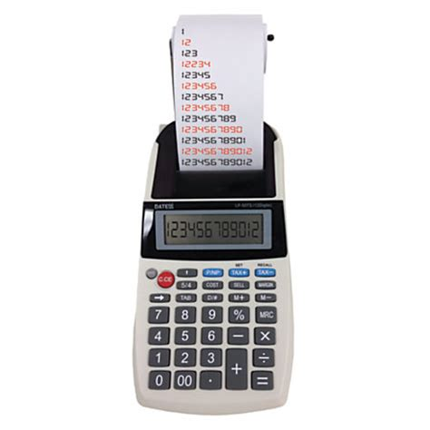 Office Depot Calculators by Datexx Lp 50ts Handheld Printing Calculator By Office