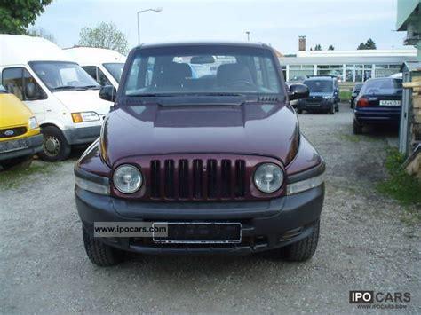 ssangyong korando 2000 2000 ssangyong korando air auto truck approval