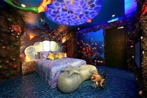 Little Mermaid Home Decor | mermaid bedrooms the home touches
