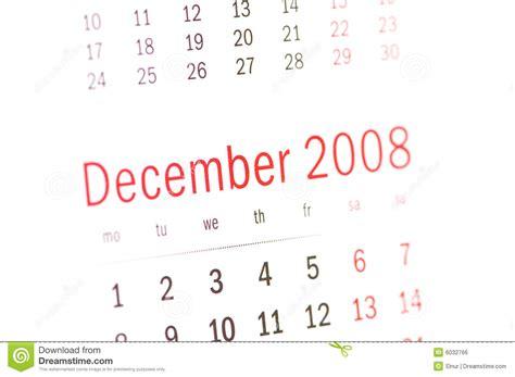 Calendrier Decembre 2008 Fermez Vous Vers Le Haut Du D 233 Cembre 2008 Du Calendrier