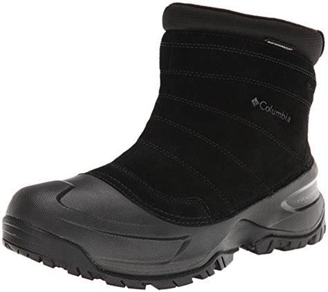 columbia men s snowblade slip waterproof boot cold weather