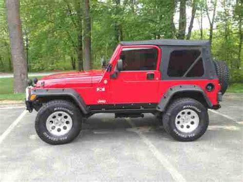 2005 Jeep Wrangler 4 Door Sell Used 2005 Jeep Wrangler X Sport Utility 2 Door 4 0l