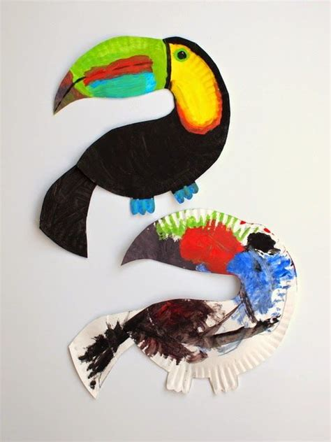 Paper Plate Parrot Craft - 25 best ideas about toucan craft on parrot