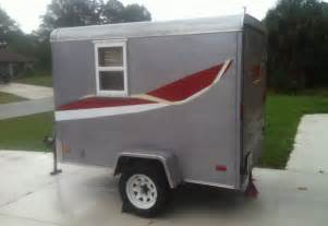 5 Foot By 8 Foot Cargo Trailer Converted Into Small Camper [VIDEO]