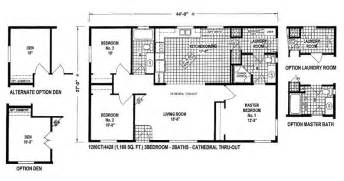 Small Double Wide Mobile Home Floor Plans by Nice Mobile Home Plans Double Wide 13 Double Wide Mobile