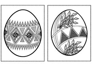 intricate easter coloring pages 217 free printable easter egg coloring pages