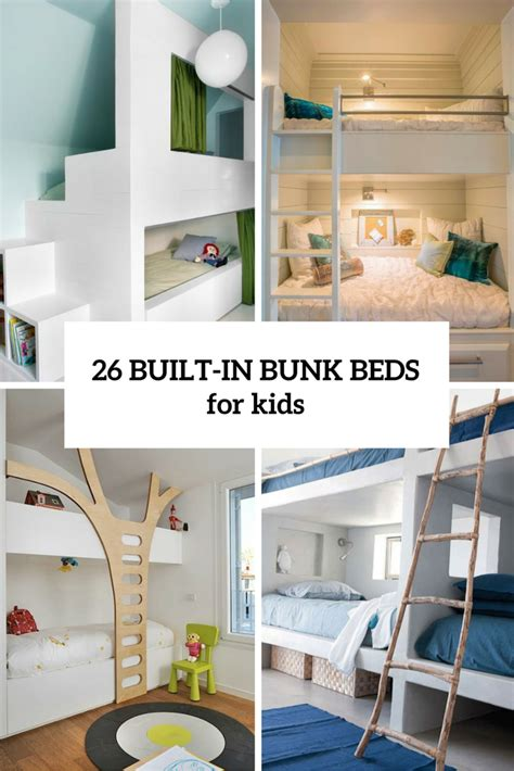cool  functional built  bunk beds  kids