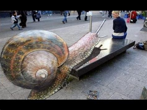 3d illusion l youtube best of 3d street art illusion silberminze