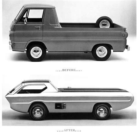 dodge retro truck truck rewind dodge deora concept retro futuristic
