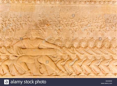 frieze pattern history bas relief frieze at angkor wat angkor unesco world