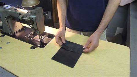 how to sew leather upholstery sewing leather with ease auto upholstery pro tip youtube