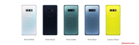 samsung galaxy s10 different region different color availability yellow and pink are limited