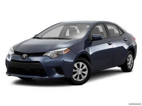2016 Toyota Corolla Specs 2016 Toyota Corolla Le 4dr Sedan Specifications Features