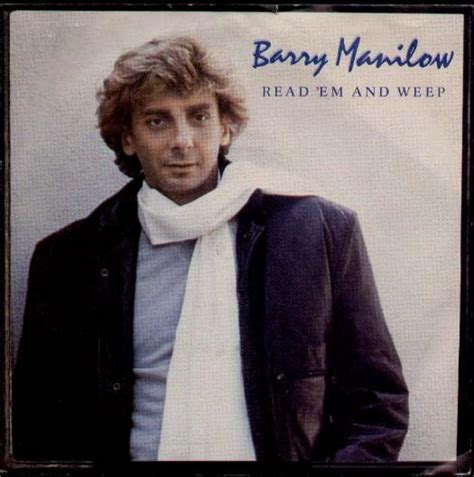 Read Em And Weep barry manilow read em and weep records lps vinyl and